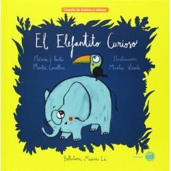 El elefantito curioso + CD