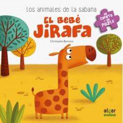 El bebé jirafa. Libro puzle
