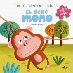 El bebé mono. Libro puzle