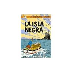 Tintin la isla negra. Juventud