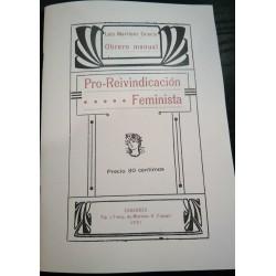 Pro-reivindicación feminista