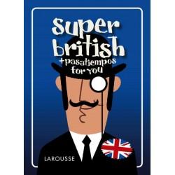 Super british + pasatiempos...
