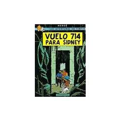Tintin vuelo 714 para Sidney