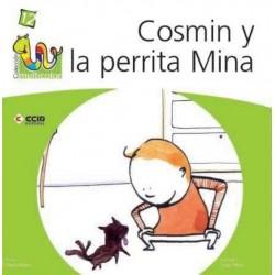 Cosmin y la perrita Mina...