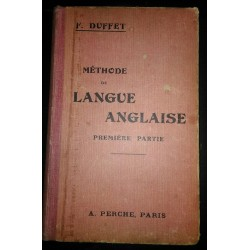 Méthode de langue anglaise....